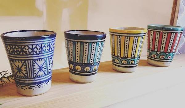 フェズ 陶器 コップ
