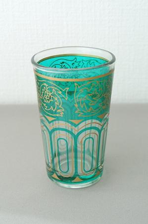 グラス 緑