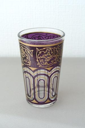 グラス 紫