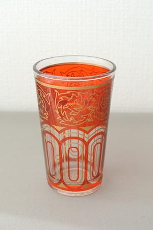 グラス オレンジ