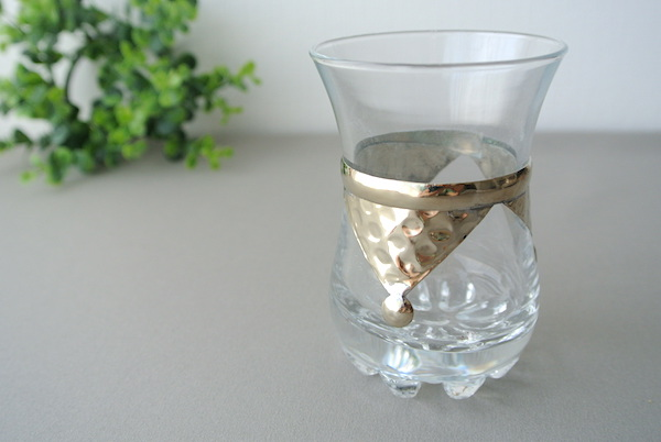 メタル装飾グラスC