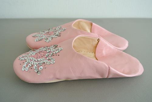 バブーシュ シュミシャ ピンク