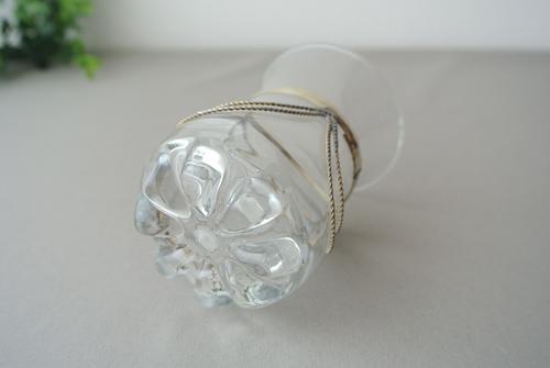 メタル装飾グラスB