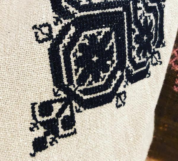 フェズ刺繍