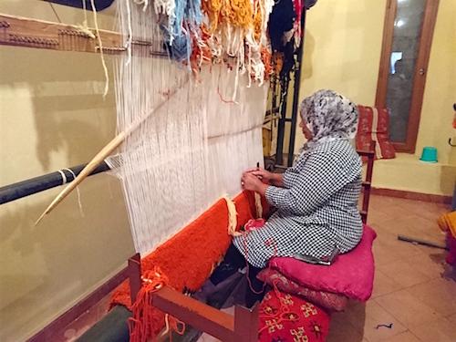 モロッコラグ 織子さん